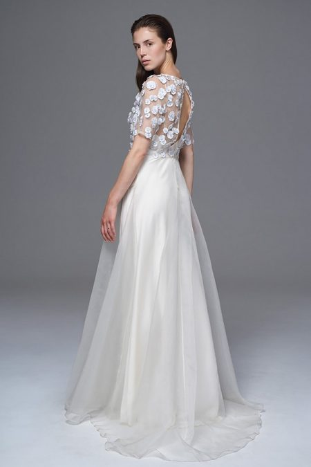 Back of Opal Wedding Dress from the Halfpenny London Wild Love 2017 Bridal Collection