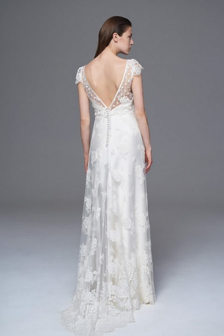 Back of Peony Wedding Dress from the Halfpenny London Wild Love 2017 Bridal Collection