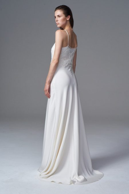 Back of Phoebe Wedding Dress from the Halfpenny London Wild Love 2017 Bridal Collection