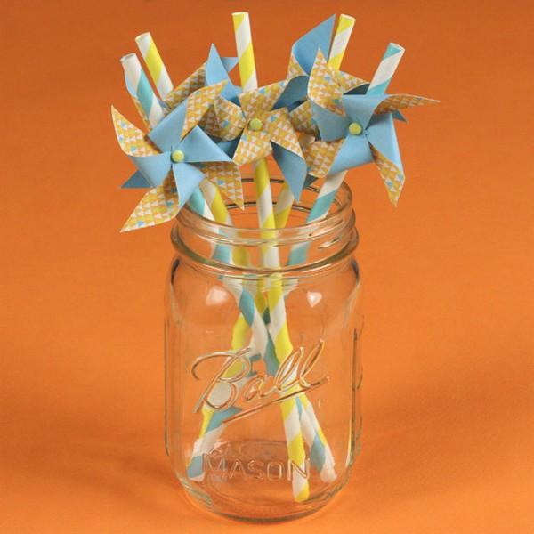 Pinwheels in Jar