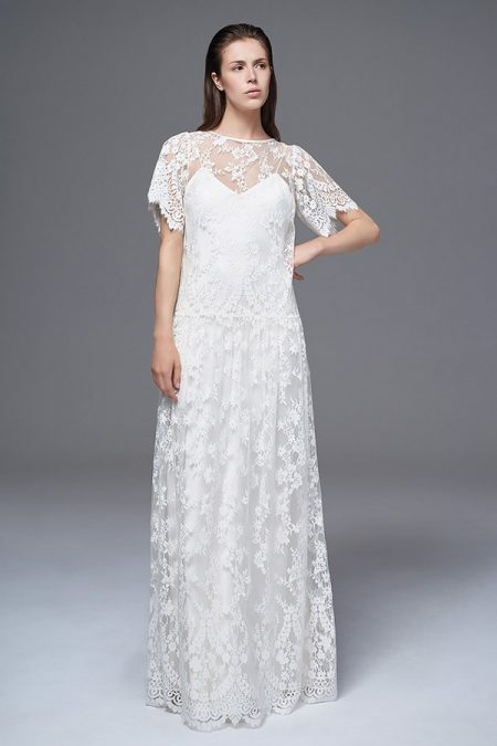 Stella Lace Wedding Dress from the Halfpenny London Wild Love 2017 Bridal Collection