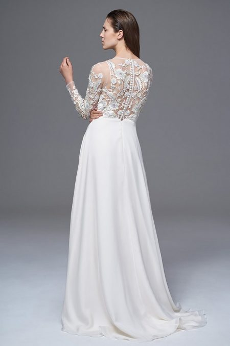 Back of Sylvie Wedding Dress from the Halfpenny London Wild Love 2017 Bridal Collection