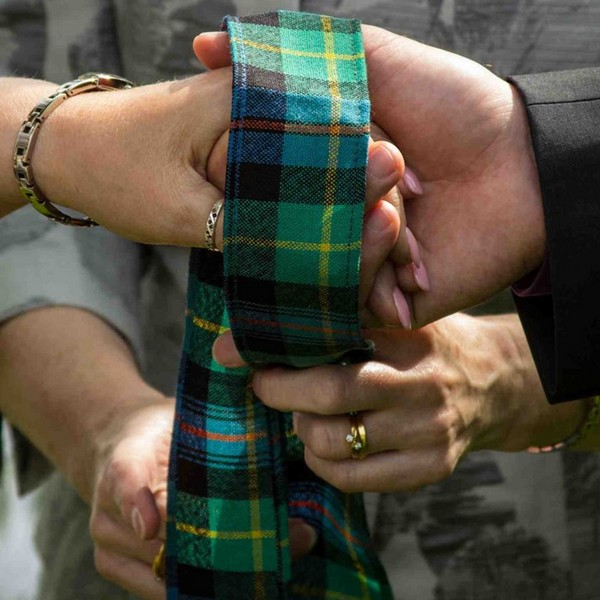 Tartan Handfasting Ribbon
