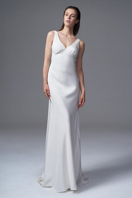 Vera Wedding Dress with Feathers from the Halfpenny London Wild Love 2017 Bridal Collection