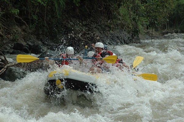 White Water Rafting - water themed stag and hen activity