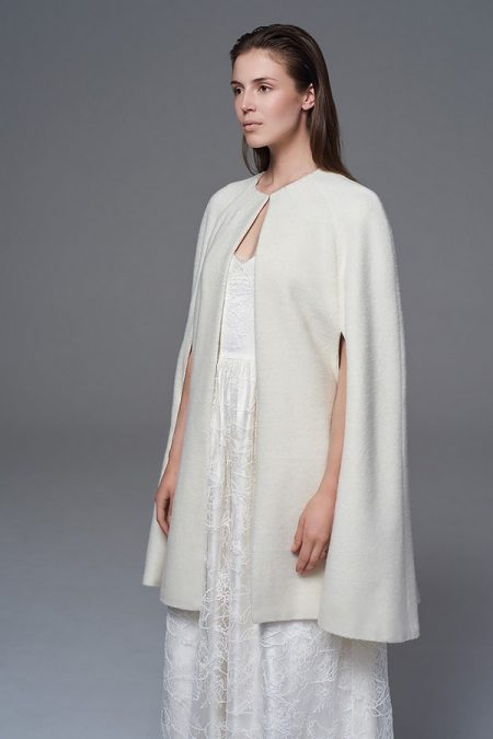 Wool Cape from the Halfpenny London Wild Love 2017 Bridal Collection