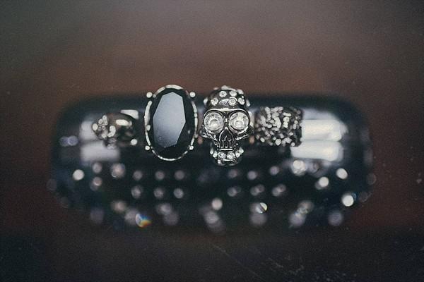 Skull on jewellery