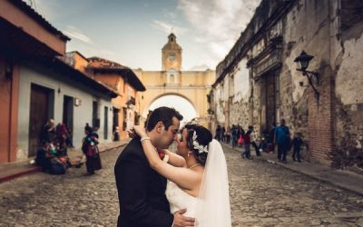 A Colourful Wedding in Antigua, Guatemala