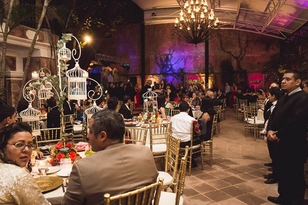 Wedding reception in Hotel Casa Blanca, Guatemala