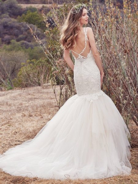 Back of Alta Wedding Dress from the Maggie Sottero Cordelia 2017 Bridal Collection