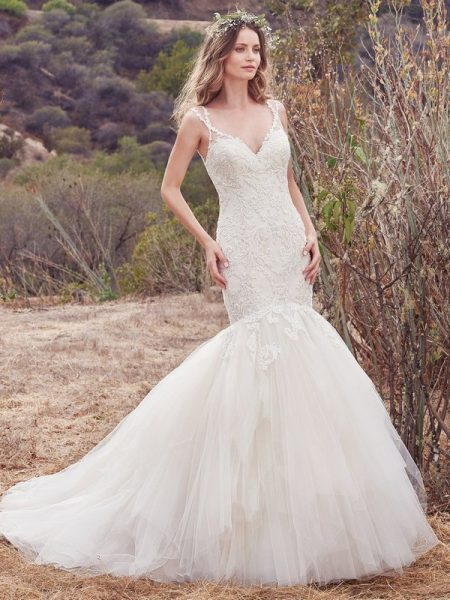 Alta Wedding Dress from the Maggie Sottero Cordelia 2017 Bridal Collection