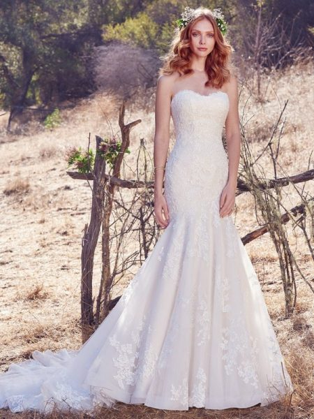 Aretha Wedding Dress from the Maggie Sottero Cordelia 2017 Bridal Collection