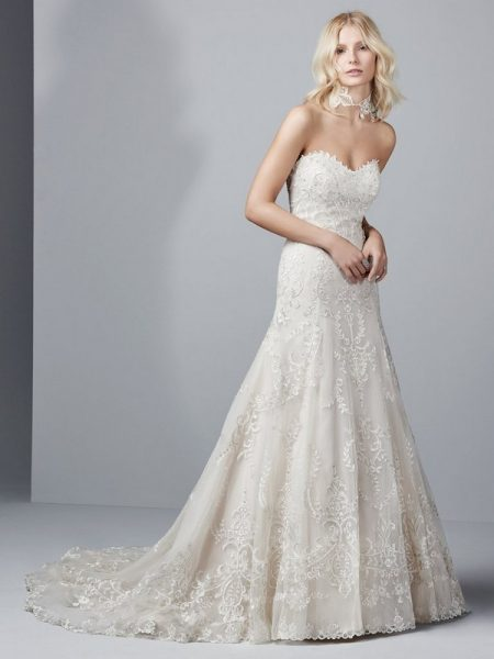 Bennett Wedding Dress from the Sottero and Midgley Grayson 2017 Bridal Collection