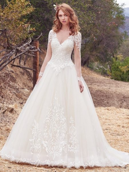 Berkley Wedding Dress from the Maggie Sottero Cordelia 2017 Bridal Collection