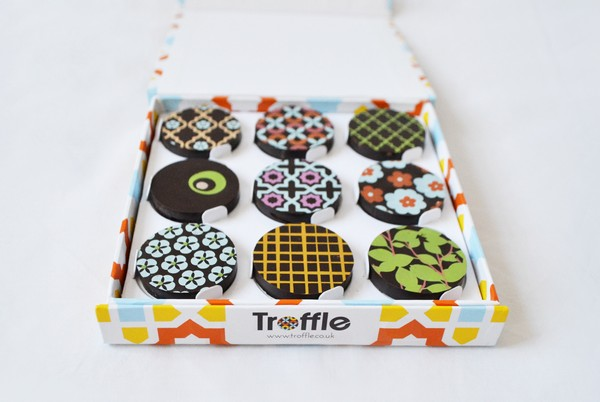 Box of Troffle Chocolates