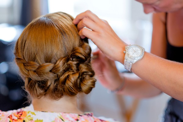 Bridal Party Hair and Make-Up Timings