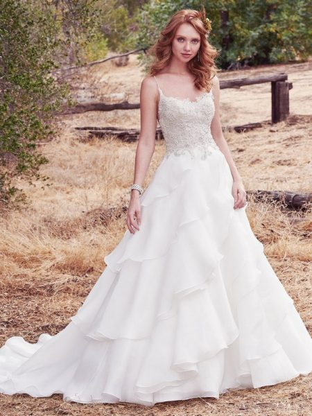 Cambrie Wedding Dress from the Maggie Sottero Cordelia 2017 Bridal Collection