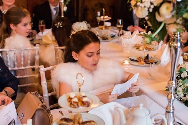 Child Reading Wedding Speech