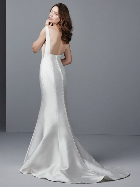 Back of Cohen Wedding Dress from the Sottero and Midgley Grayson 2017 Bridal Collection