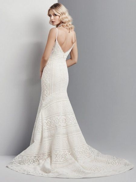 Back of Cooper Wedding Dress from the Sottero and Midgley Grayson 2017 Bridal Collection