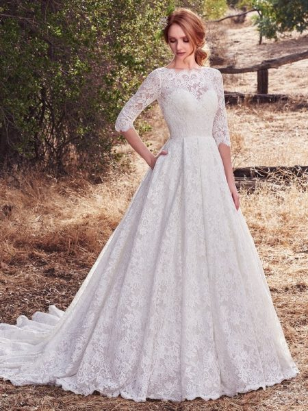 Cordelia Wedding Dress from the Maggie Sottero Cordelia 2017 Bridal Collection