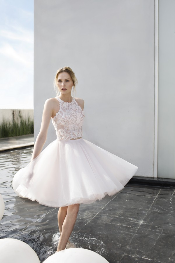 Daisy wedding dress from the Mira Zwillinger 2017 Whisper of Blossom Bridal Collection