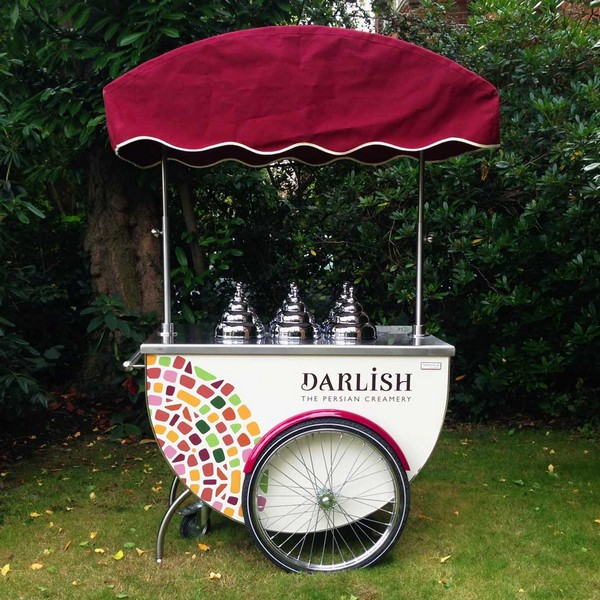 Darlish Ice Cream Cart