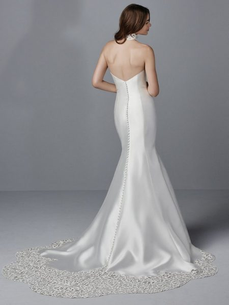 Back of Eldridge Wedding Dress from the Sottero and Midgley Grayson 2017 Bridal Collection