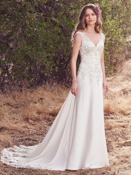 Estelle Wedding Dress from the Maggie Sottero Cordelia 2017 Bridal Collection