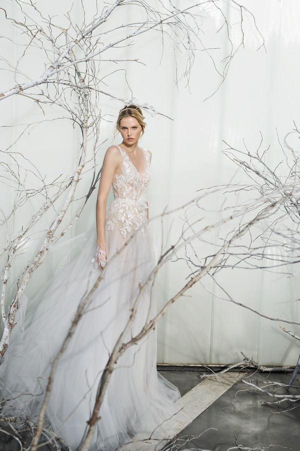 Fern wedding dress from the Mira Zwillinger 2017 Whisper of Blossom Bridal Collection