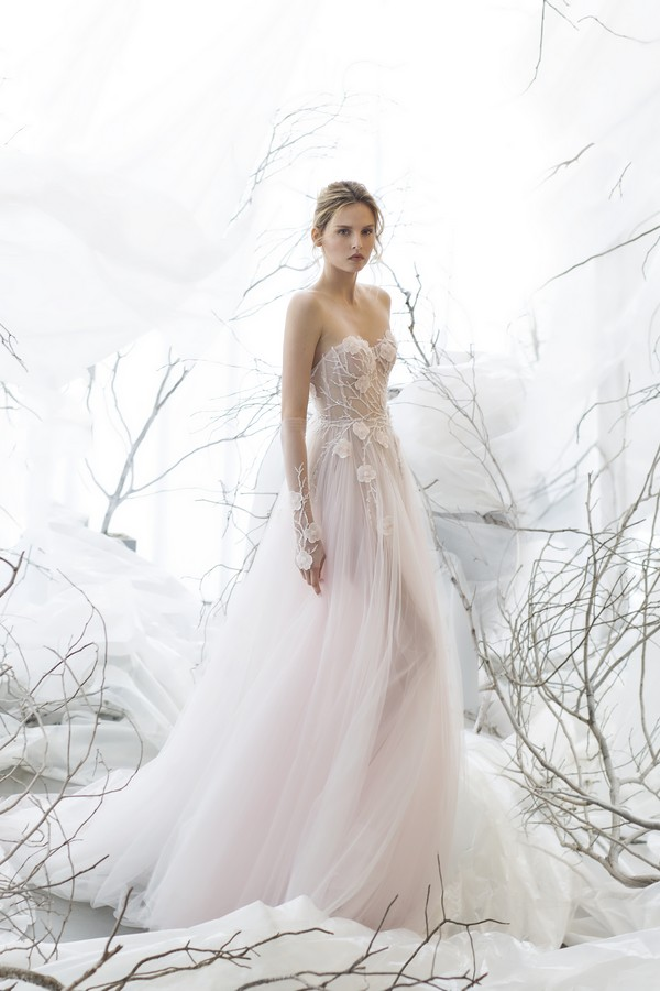 Flora wedding dress from the Mira Zwillinger 2017 Whisper of Blossom Bridal Collection