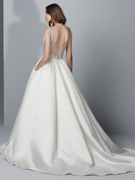 Back of Gavin Wedding Dress from the Sottero and Midgley Grayson 2017 Bridal Collection