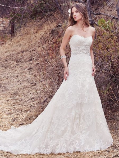 Genoa Wedding Dress from the Maggie Sottero Cordelia 2017 Bridal Collection