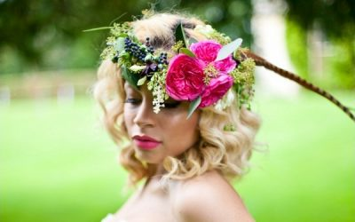 Wearing Flowers in Your Bridal Hair