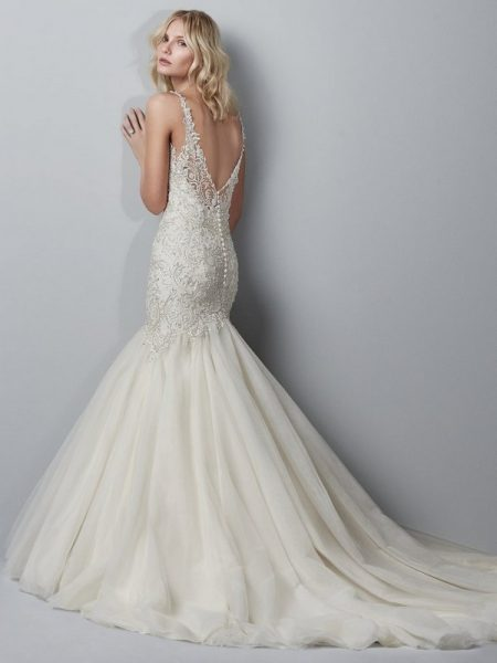Back of Hardy Wedding Dress from the Sottero and Midgley Grayson 2017 Bridal Collection