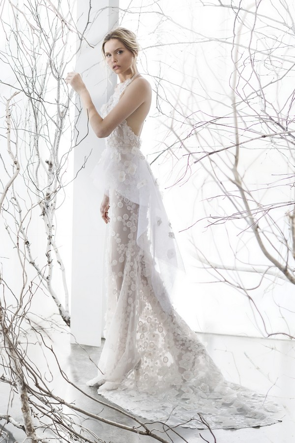 Harper wedding dress from the Mira Zwillinger 2017 Whisper of Blossom Bridal Collection