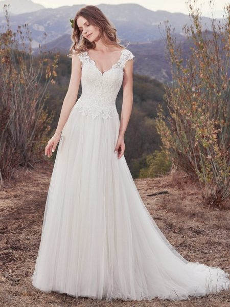 Hensley Wedding Dress from the Maggie Sottero Cordelia 2017 Bridal Collection