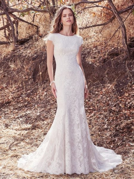 Hudson Lynette Wedding Dress from the Maggie Sottero Cordelia 2017 Bridal Collection