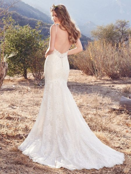 Back of Ida Wedding Dress from the Maggie Sottero Cordelia 2017 Bridal Collection