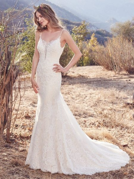 Ida Wedding Dress from the Maggie Sottero Cordelia 2017 Bridal Collection