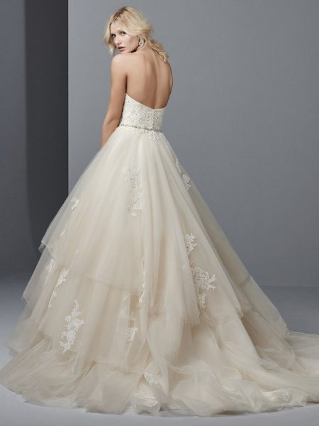 Back of Idris Wedding Dress from the Sottero and Midgley Grayson 2017 Bridal Collection