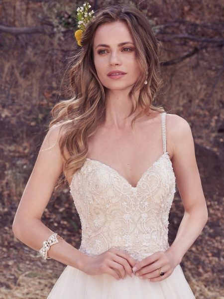 Janessa Wedding Dress from the Maggie Sottero Cordelia 2017 Bridal Collection