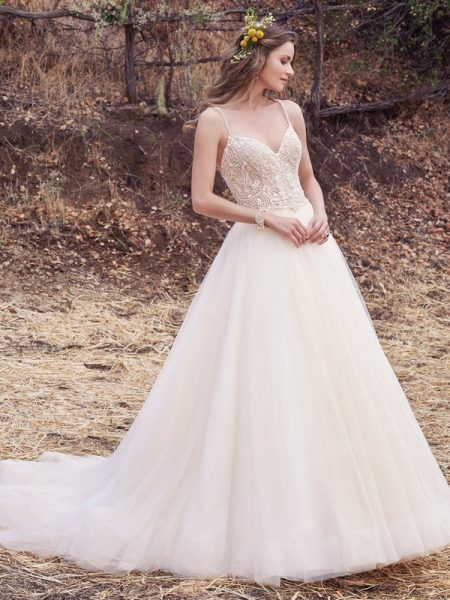Janessa Marie Wedding Dress from the Maggie Sottero Cordelia 2017 Bridal Collection