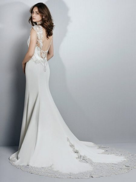 Back of Kai Wedding Dress from the Sottero and Midgley Grayson 2017 Bridal Collection