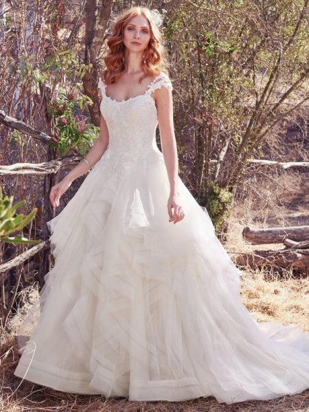 Keisha Wedding Dress from the Maggie Sottero Cordelia 2017 Bridal Collection