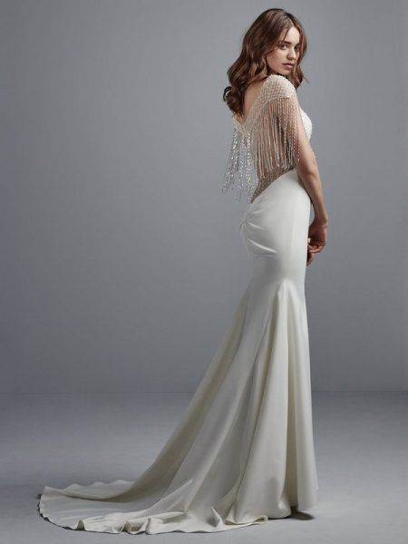 Back of Liam Wedding Dress from the Sottero and Midgley Grayson 2017 Bridal Collection