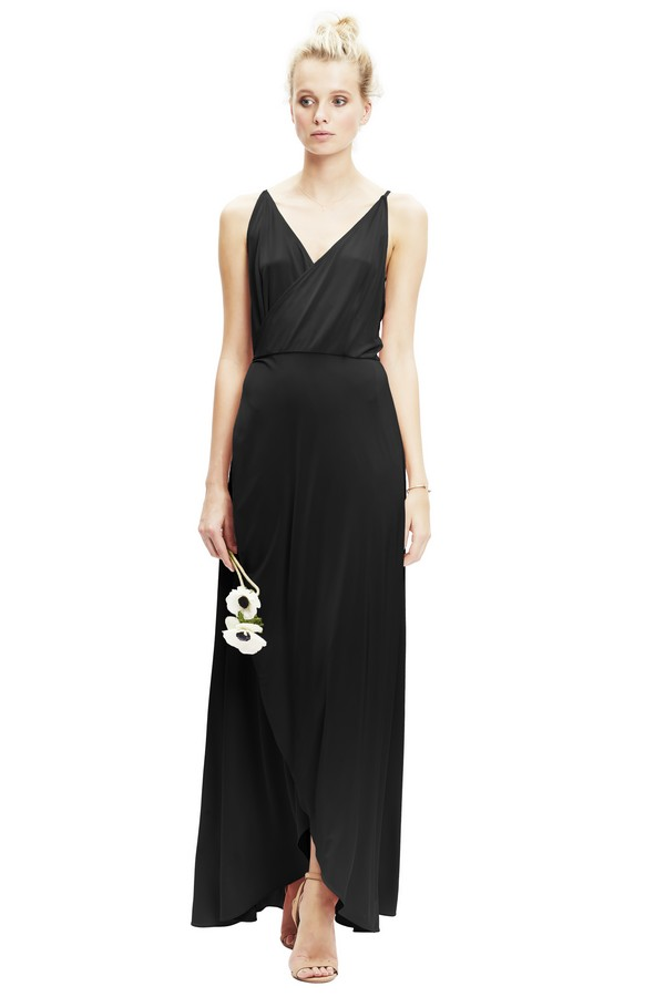 Lily Dress in Black from Twobirds Bridesmaid Party Collection