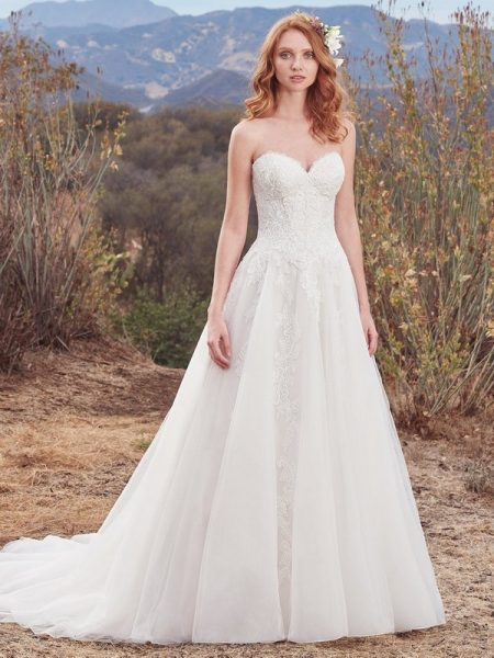 Lorelai Wedding Dress from the Maggie Sottero Cordelia 2017 Bridal Collection