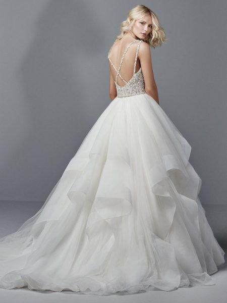Back of Micah Wedding Dress from the Sottero and Midgley Grayson 2017 Bridal Collection