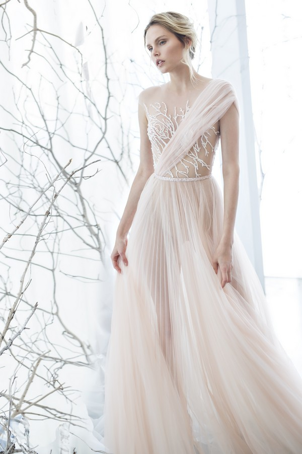 Mimosa wedding dress from the Mira Zwillinger 2017 Whisper of Blossom Bridal Collection